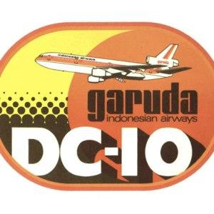 Garuda Vintage Style Graphic