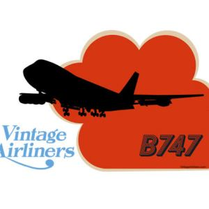 Vintage Airliners Jet-Age Airplane Four Seven