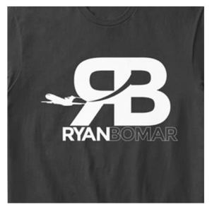 Ryan Bomar Branded Tee Black