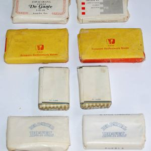 x Lot of Vintage Hotel Soaps