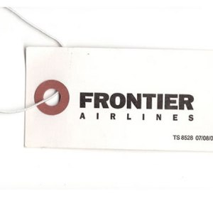 Frontier Airlines Luggage Tag