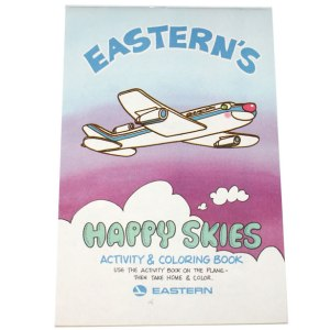 Eastern Airlines – Happy Skies Kids Activity Book