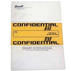 Braniff International Airlines Envelope Collection