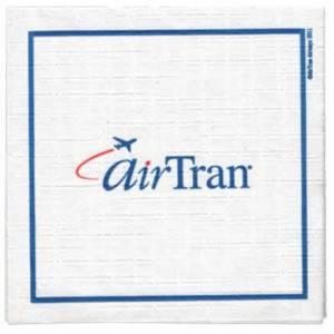 Air Tran Airlines Paper Napkin