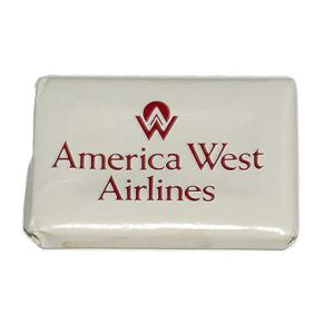 America West Airlines Lavatory Soap Bar