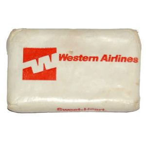 Western Airlines Lavatory Soap Bar
