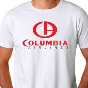 Columbia Airlines Logo Tee (4XL)