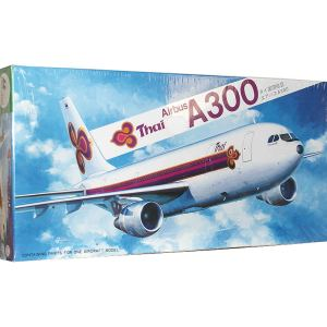Hasegawa Thai Airways Airbus A300 Plastic Model Kit 1/200