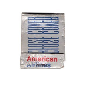 American Airlines Matchbook Matches