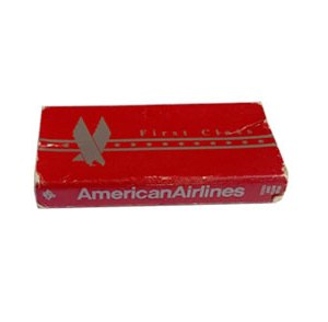 American Airlines First Class Matchbox Matches