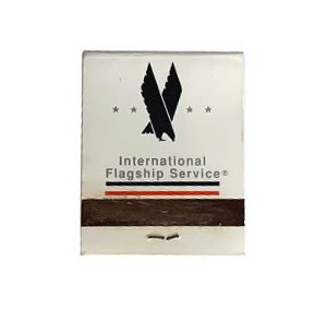 American Airlines Flagship Service Matchbook Matches
