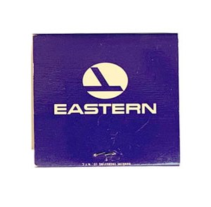 Eastern Airlines Matchbook Matches ETC