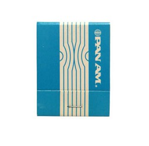 Pan Am Airlines Matchbook Matches