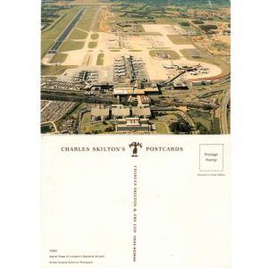 London Gatwick Airport Postcard