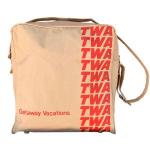 TWA Getaway Vacations Travel Shoulder Bag