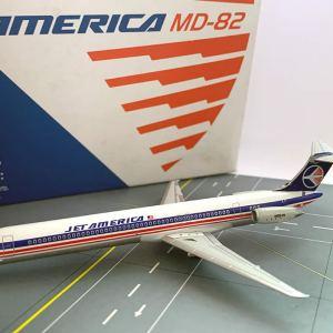 Jet America MD-82 1:400 Scale Model