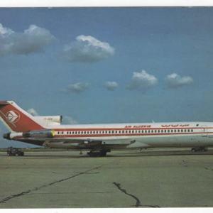 Air Algerie Boeing 727-200 Postcard