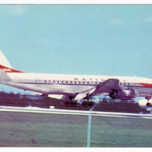 National Airlines Douglas DC-8 Postcard (B)