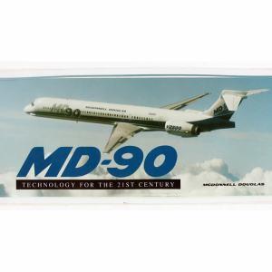 McDonnell Douglas MD-90 Bumper Sticker