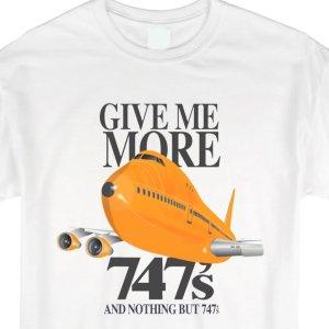 More 747s Orange Jumbo, Tee