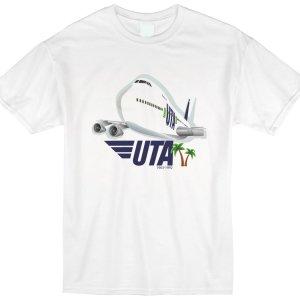 UTA French Airline Jumbo Tee