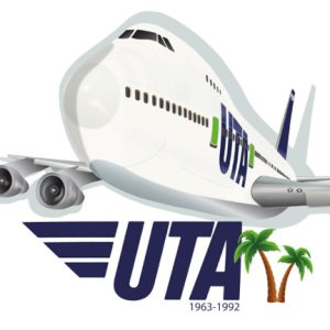 UTA French Airline Jumbo Tee