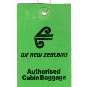 Air New Zealand Luggage Tag 1980s