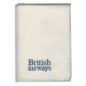 British Airways Towelette Fabric Napkin