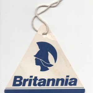 Britannia Airlines Luggage Tag