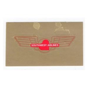 Southwest Airlines Jr Pilot Wings – Sticker