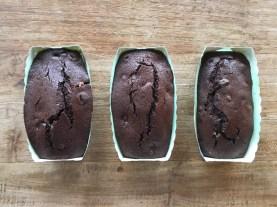 Cake chocolat amande pistache noisette