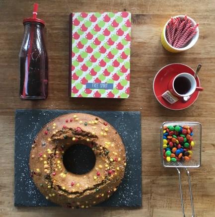 Donut géant café noisette