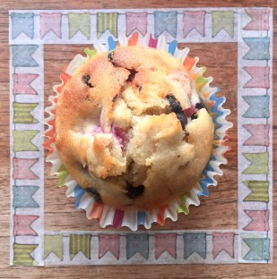 Muffins facile simple chocolat framboise