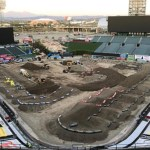 Video Behind The Scenes Of Building Anaheim Supercross Track Gatedrop Com