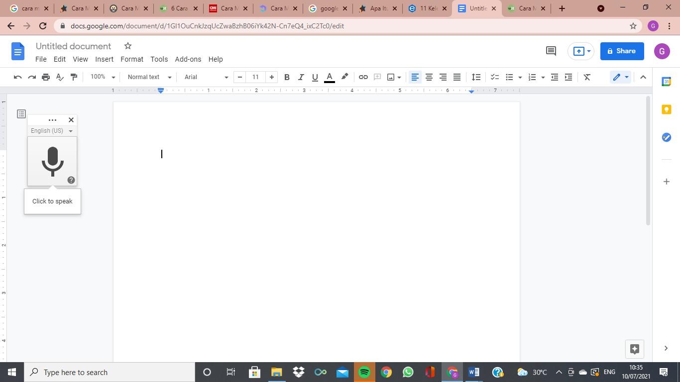google docs form