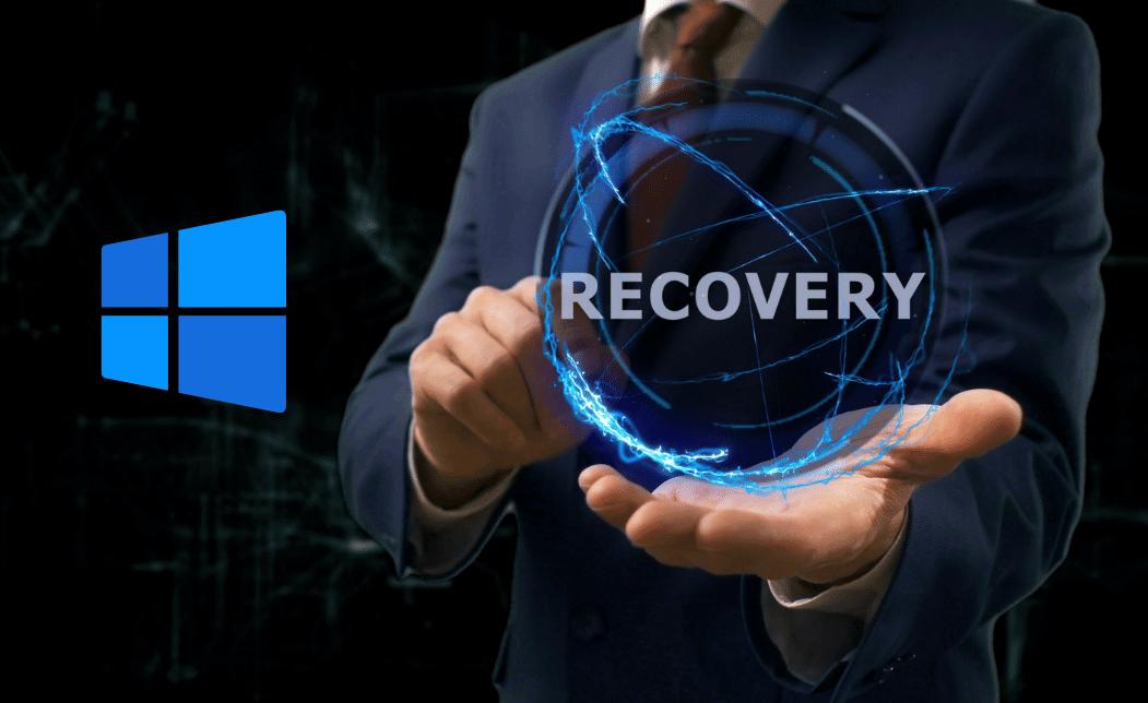 Cara Recovery Windows 10