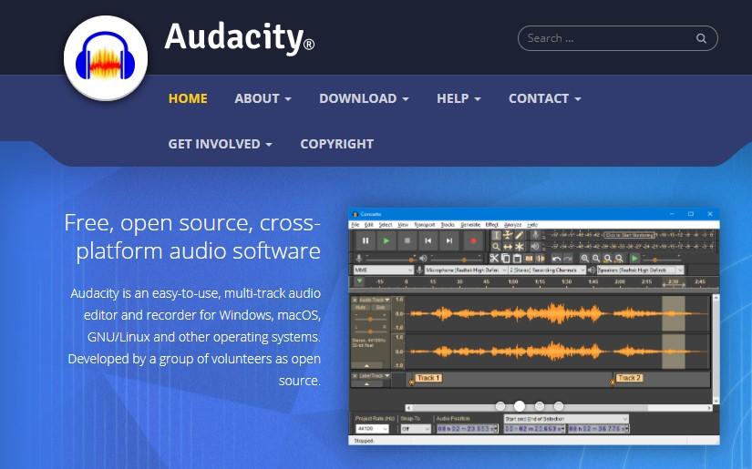 Dengan Audacity
