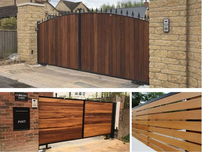 Electric gate designs and ideas