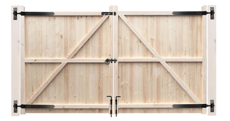 Fit-a-wooden-driveway-gate