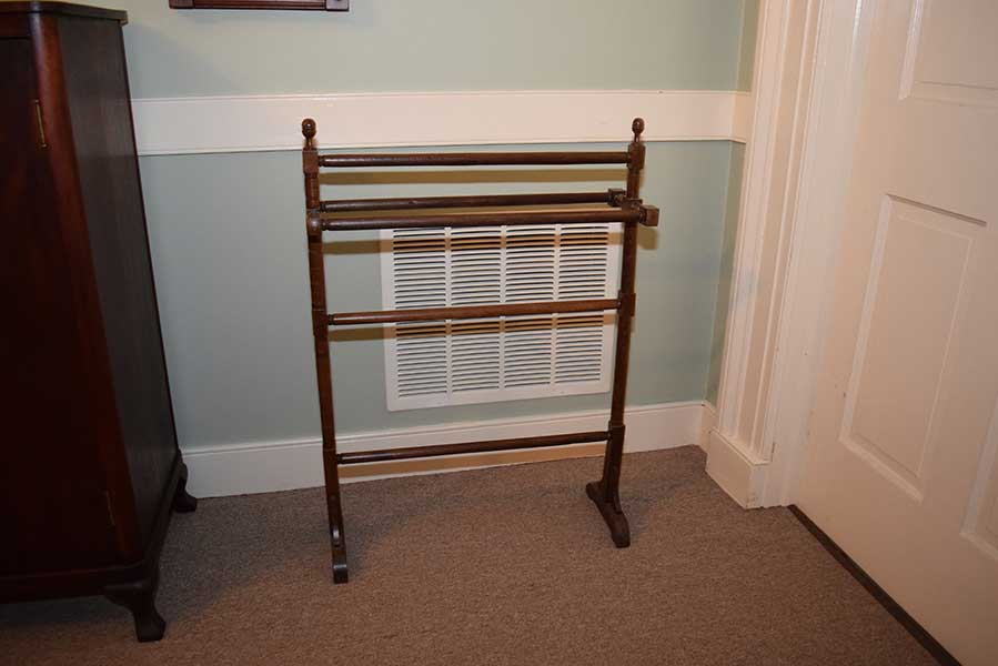 Walnut Towel Rack Gates Antiques Ltd Richmond VA