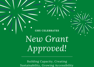 Thumbnail for the post titled: New Grant Approved!