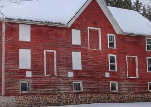 Thumbnail for the post titled: Winter Wonderland at the Hinchey House & Barn