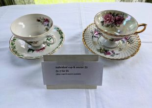 Thumbnail for the post titled: Set of 2 Teacups & Saucers