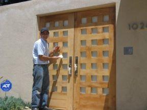 , Wood Gates Los Angeles