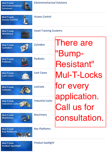 Mul-T-Lock Stops Bump Keys! - Mulholland Gates • Los Angeles