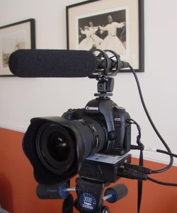 5D Mark II with Sound rig