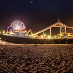 Another view of the Santa Monica pier
