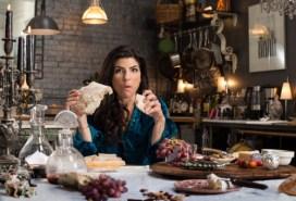 Gina Breaking Bread