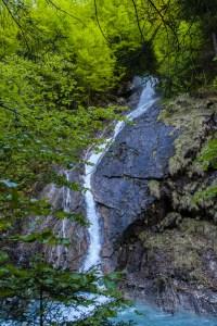 Bürser Schlucht Wasserfall