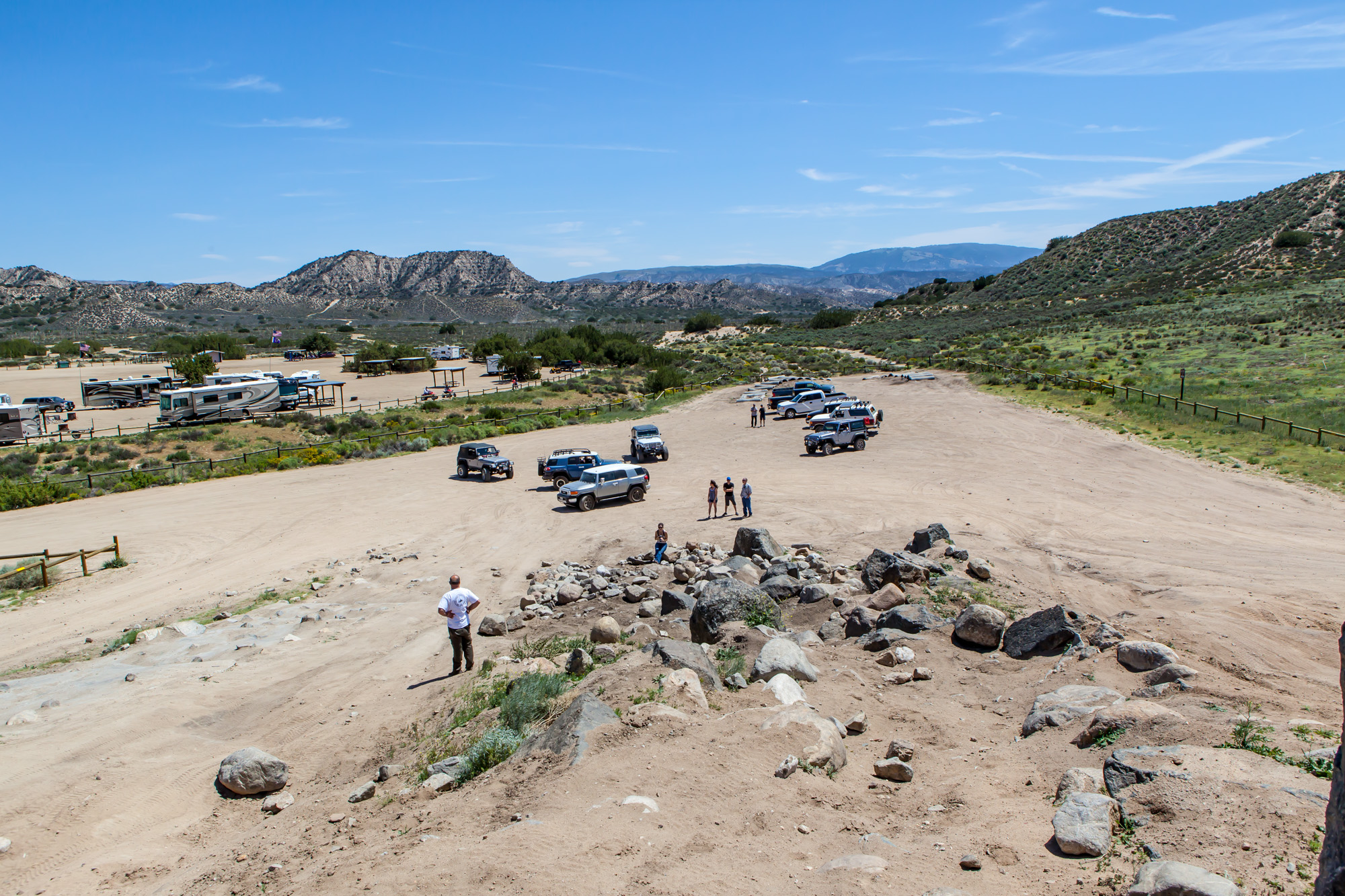 My first Landops meetup inside the Hungry Valley State Vehicular Recreation Area